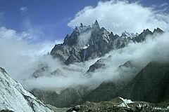 Felsnadeln in Karakorum
